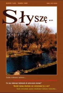 W numerze 3/65/2003 marzec