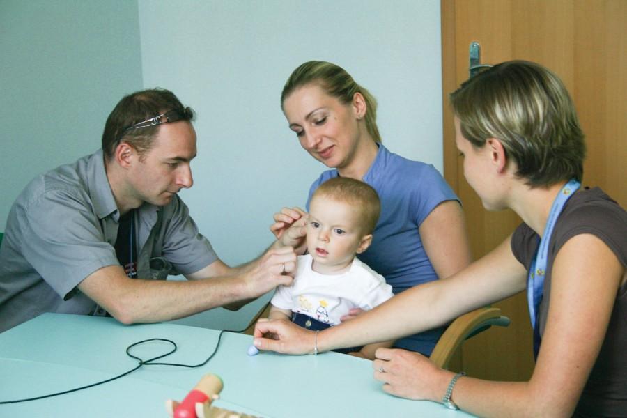 Specjalistycznego wsparcia potrzebuje nie tylko mały pacjent, lecz także jego rodzice.