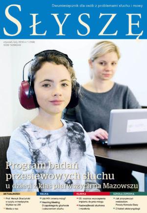 Program badań przesiewowych słuchu u dzieci z klas pierwszych na Mazowszu (Słyszę nr styczeń/luty 1/159/2018)