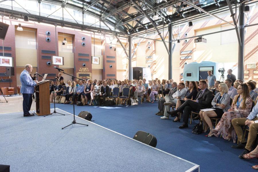 Uczestników konferencji powitał wŚwiatowym Centrum Słuchu prof. Henryk Skarżyński.